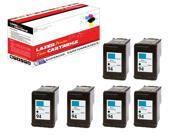 OWS® Compatible 6PK Inkjet Ink Unit for HP C8765WN ( HP 94 ) Black Compatible Inkjet Ink For 5740 6540 6840 6210 7310 7410