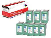OWS® Compatible 8PK Inkjet Ink Unit for HP C8766WN ( HP 95 ) Color Compatible Inkjet Ink For 5740 6540 6840 6210 7310 7410