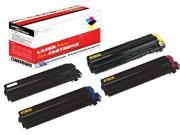 OWS® 1SET Compatible Laser Toner Unit for Kyocera-Mita TK512K TK512C TK512M TK512Y Black Cyan Yellow Magenta Compatible Toner Unit FS C5020N C5025N C5030N