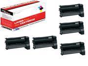 OWS® Compatible Toner Unit for Lexmark C782X2KG 5PK Black Compatible Toner For Lexmark C782DN C782DTN C782N X782E