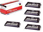 OWS® Compatible Toner Unit for Lexmark X560H2KG 5PK Black Toner For Lexmark X560 X560N
