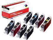 OWS® 1SET Compatible Ink Unit for Canon CLI-42BK CLI-42C CLI-42M CLI-42Y CLI-42PC CLI-42PM CLI-42GY CLI-42LGY Compatible Ink Unit PIXMA Pro 100