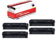 OWS® Compatible 4PK Toner Cartridge of Canon 045 Black Cyan Magenta Yellow imageclass mf634cdw imageclass mf632cdw