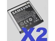 2 FOR 1 Samsung OEM EB575152VA battery Galaxy S Vibrant T959 d700 i897 gt-i9000 9SIA6BV25G2269