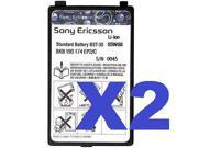 2 FOR 1 Sony Ericsson OEM BST-30 Cell Battery for K500 K700 T226 T237 Z200 Z500