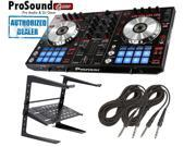 Pioneer DDJ Series DDJ-SR Digital Performance DJ Controller + Laptop Stand + FREE Cables