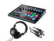 Native Instruments Maschine MK2 Groove Production Studio, Black. W/ Tascam + 2 Midi Cables.