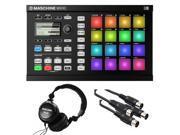Native Instruments Maschine Mikro MK2 Groove Production Studio, Black. W/ Tascam + 2 Midi Cables.