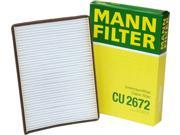 Mann-Filter Cabin Air Filter CU 2672 9SIA5BT5KT1084