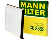Mann-Filter Cabin Air Filter CU 2855 9SIV18C6CF1726