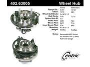 Centric Axle Bearing and Hub Assembly 402.63005