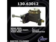 Centric Brake Master Cylinder 130.63012