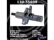 Centric Brake Master Cylinder 130.35039