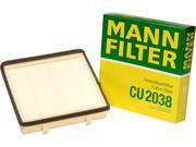 Mann-Filter Cabin Air Filter CU 2038 9SIA1VG3373791
