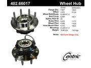 Centric Axle Bearing and Hub Assembly 402.66017E