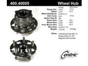 Centric Axle Bearing and Hub Assembly 400.40005