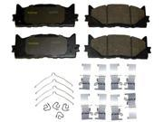 Monroe Brakes Ceramics Brake Pad CX1222