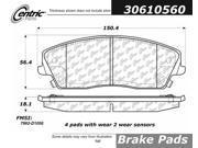 Centric Brake Pad 306.10560