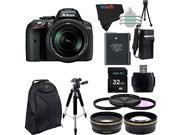 Nikon D5300 24.2 MP Digital SLR Camera with 18-140mm f/3.5-5.6G ED VR AF-S DX NIKKOR Lens + Pixi-Advanced Accessory Bundle 9SIA6C421Z7019