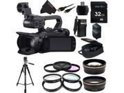 Canon XA25 Professional Camcorder - 8443B002 + Pixi-Essential Accessory Bundle - Features