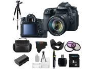 Canon EOS 70D 20.2MP Digital SLR Camera with 18-135mm STM Lens + Pixi-Basic Accessory Bundle