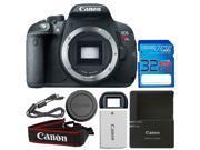 Canon EOS Rebel T5i DSLR Camera (Body) + I3ePro 32GB SDHC Memory Card