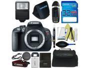 Canon EOS Rebel T5i DSLR Camera (Body) + Pixi-Basic Accessory Bundle