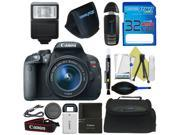 Canon EOS Rebel T5i DSLR Camera with 18-55mm Lens + Pixi-Basic Accessory Bundle