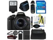Canon EOS Rebel T6i DSLR Camera with 18-55mm Lens + Pixi-Basic Accessory Bundle