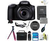 Canon PowerShot SX60 HS Digital Camera + Pixi-Basic Accessory Kit