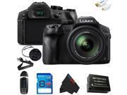 Panasonic Lumix DMC-FZ300 Digital Camera + 8GB Pixi-Basic Accessory Kit