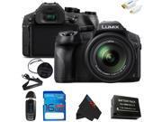 Panasonic Lumix DMC-FZ300 Digital Camera + 16GB Pixi-Basic Accessory Kit …