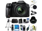 Panasonic Lumix DMC-FZ300 Digital Camera + Pixi-Basic Accessory Kit