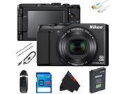 Nikon COOLPIX S9900 Digital Camera + 8GB Pixi-Basic Accessory Kit
