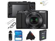 Nikon COOLPIX S9900 Digital Camera + 16GB Pixi-Basic Accessory Kit