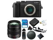 Panasonic Lumix DMC-GX8 Mirrorless Micro Four Thirds Digital Camera  + Panasonic Lumix G X Vario 12-35mm f/2.8 + 8GB Pixi-Basic Accessory Kit