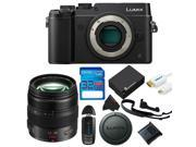 Panasonic Lumix DMC-GX8 Mirrorless Micro Four Thirds Digital Camera + Panasonic Lumix G X Vario 12-35mm f/2.8 + 32GB Pixi-Basic Accessory Kit