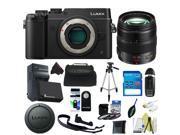 Panasonic Lumix DMC-GX8 Mirrorless Micro Four Thirds Digital Camera + Panasonic Lumix G X Vario 12-35mm f/2.8 + Pixi-Basic Accessory Kit