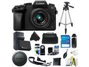 Panasonic Lumix DMC-G7 Mirrorless Micro Four Thirds Digital Camera with 14-42mm Lens + Pixi-Basic Accessory Kit