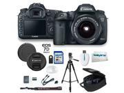 "Canon EOS 7D Mark II Digital SLR Camera 20.2 MP CMOS with EF-S 18-55mm f/3.5-5.6 IS STM Zoom Lens + 32GB Expo-Accessory 72"" Tripod Kit"