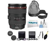 Canon EF 24-105mm f/4 L IS USM Lens for Canon EOS SLR Cameras T3, T3i, T4i, T5, T5i, 5D, 6D, 60D, 7D, 70D, SL1, 600D, 650D, 700D, 100D + Advanced Expo-Accessory Bundle
