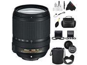 Nikon 18-140mm f/3.5-5.6G ED VR AF-S DX NIKKOR Zoom Lens + Pixi-Advanced Accessory Bundle