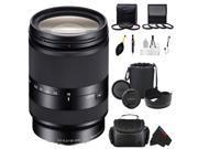 Sony 18-200mm F3.5-6.3 E-Mount Lens + Pixi-Advanced Accessory Bundle