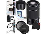 Sony E-Mount 55-210mm F4.5-6.3 Lens for ILCE-7, ILCE-7R, ILCE-7S, NEX-3, NEX-5, NEX-C3, NEX-5N, NEX-7, NEXF3, NEX5R, NEX-6, NEX-3N, NEX 5T, A3000, A5000, A6000, A3500, A5100