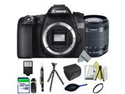 Canon EOS 70D DSLR Camera + Canon 18-55mm f/3.5-5.6 IS STM Lens + Expo-Basic Accessories Kit