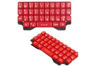 BisLinks® Red Keypad Keyboard Qwerty Buttons Replacement Part Repair Fix For Blackberry Q5 9SIA6CS38X6255