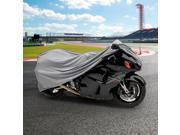NEH® Motorcycle Bike 4 Layer Storage Cover Heavy Duty For Triumph Trophy 650 900 1200 Tiger Daytona 800