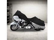 NEH® Motorcycle Bike Cover Travel Dust Storage Cover For Harley Softail Springer Heritage Classic