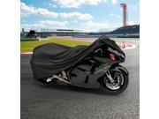 NEH® Motorcycle Bike Cover Travel Dust Storage Cover For Suzuki Exacta Tracker Contender Cyclone