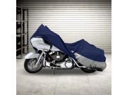Motorcycle Bike Cover Travel Dust Storage Cover For Honda VT Shadow Spirit Velorex Deluxe